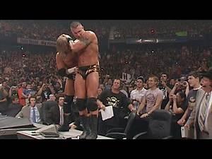 Randy Orton vs. Triple H - Last Man Standing WWE Title Match: WWE No Mercy 2007 on WWE Network