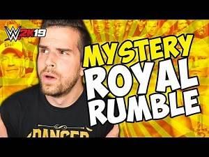 WWE 2K19 - 30 MAN MYSTERY ROYAL RUMBLE!!
