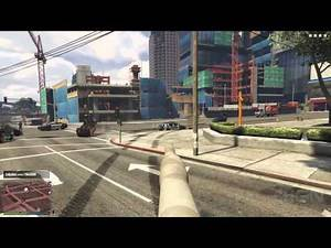 First Person 5 Star Tank Rampage in GTA 5 - IGN Plays
