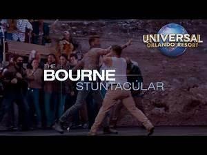 All-New The Bourne Stuntacular at Universal Studios Florida Teaser Promo