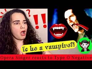 Opera Singer Reacts to Type O Negative - Love You To Death [OFFICIAL VIDEO]