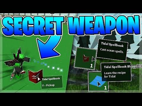 🌴 How to Get the SECRET WEAPON in Roblox Islands FAST! (TIDAL SPELLBOOK)