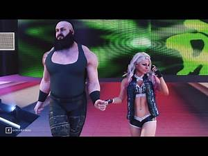 😂 Some Funny Entrances Alexa Bliss & Braun Strowman 😂 Mixed Match Partner | WWE 2K19 1440p