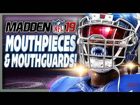 Are Mouthpieces & Mouthguards in Madden 19?