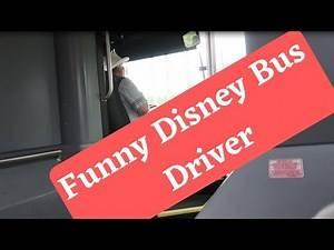 Entertaining Cast Member Bus Driver At Walt Disney World