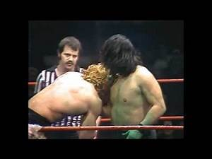 Kerry Von Erich vs The Great Kabuki. WCCW 1982