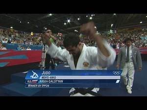 Galstyan Wins Men's -60 kg Judo - London 2012 Olympics