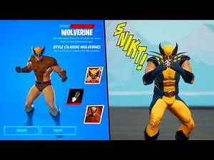 How to ACTUALLY GET WOLVERINE in Fortnite - Wolverine Awakening Challenges & ADAMANTIUM CLAWS