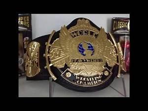 Guide to the BEST WWE WWF WCW TNA NWA Wrestling Replica belts