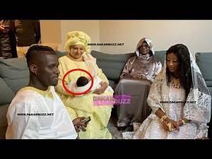 BAPTEME du Bébé de KARA MBODJ:Regarder la forte délégation de Serigne Modou Kara et fils