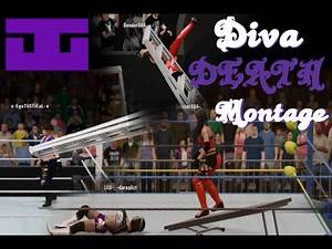 WWE 2K16 [PS4] - *Diva* DEATH! Montage [EXtreme Highlights N' EPIC Fails!]