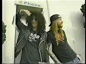 2 RIP Magazine Commercials with Axl and Slash