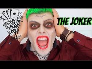 The Joker | Suicide Squad Inspired | Halloween Tutorial