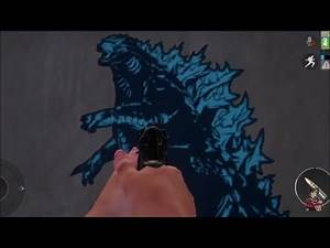PUBG Finding Godzilla king of the monsters Easter eggs