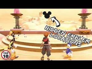 Kingdom Hearts 3 Hidden Emblem Locations - Olympus