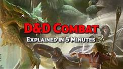 D&D 5E Combat Explained in 5 Minutes