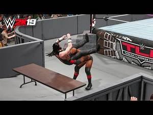 WWE 2K19 - Bobby Lashley vs Elias TLC Full Match