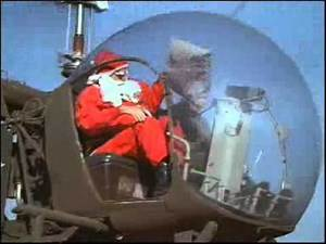 MASH 4077 - Hawkeye jako Santa Claus