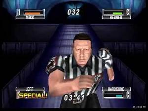 WWF No Mercy N64 Royal Rumble Part 1