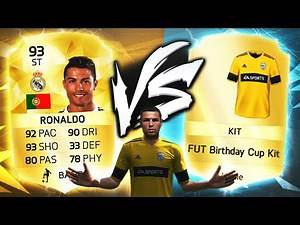 STRIKER RONALDO VS THE GOLDEN KIT TOURNAMENT!!! FIFA 16 ULTIMATE TEAM