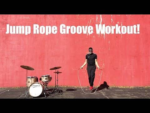 Beginner Jump Rope Groove Workout 140 bpm