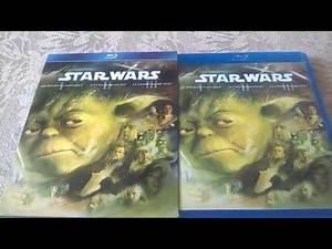 Star Wars: Prequel Trilogy Blu-ray Box Set Unboxing