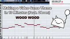 Attempting to Make a Video Game Theme with Only Oboes in 10 Minutes    Shady Cicada