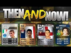FIFA 15 THEN AND NOW!!! UNBELIEVABLE TOTS PLAYERS FIRST CARDS IN FIFA HISTORY!!! Then And Now TOTS