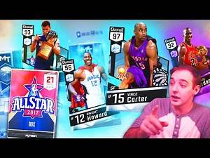 NBA 2K17 My Team NEW ALLSTAR PACKS! DIAMOND VINCE OMG DIAMOND CARDS!