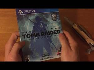 Rise of the Tomb Raider Unboxing (PS4)