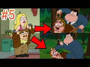 FRANCINE GETS BEATEN-UP BY STAN! American Dad Funny Moments Compilation #5