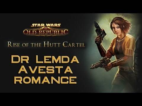 SWTOR: Dr Lemda Avesta romance compilation [Rise of the Hutt Cartel]