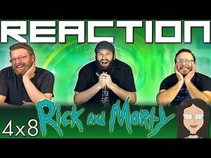 """Rick and Morty 4x8 REACTION!! """"The Vat of Acid Episode"""""""