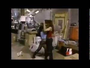 Lita and Jacqueline Backstage fights