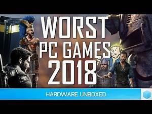 The Worst PC Games of 2018