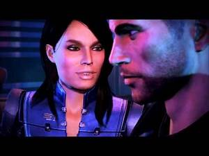 Mass Effect 3: Citadel DLC - Shepard and Ashley have a drinking contest and bar fight