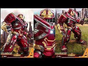 Avengers Infinity War Hot Toys Hulkbuster Power Pose 1/6 Scale Movie Figure Reveal