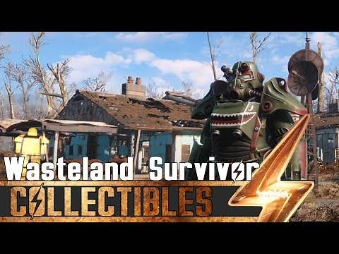 Fallout 4 - All Wasteland Survival Guide Magazines Locations
