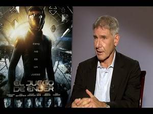 Harrison Ford full interview on Ender´s Game