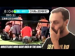WRESTLERS WHO DIED IN THE RING