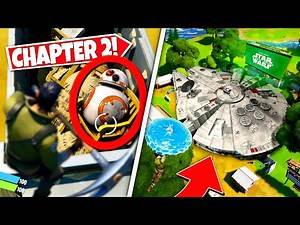 *NEW* PLAYERS DISCOVER STAR WARS *SECRET DROID* EASTER EGG IN CHAPTER 2! (Battle Royale)