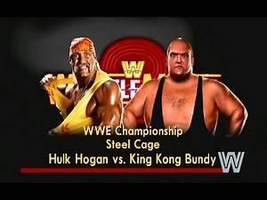 WWE 2K14   WrestleMania 2   Hulk Hogan vs King Kong Bundy