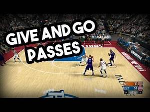 NBA 2k17 Unstoppable Play - Give and Go