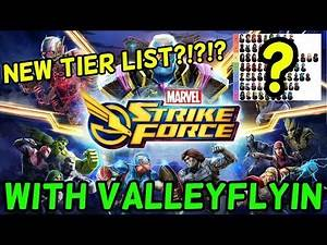 Marvel Strike Force Tier List - Ant-Man Patch (1.3) with ValleyFlyin!
