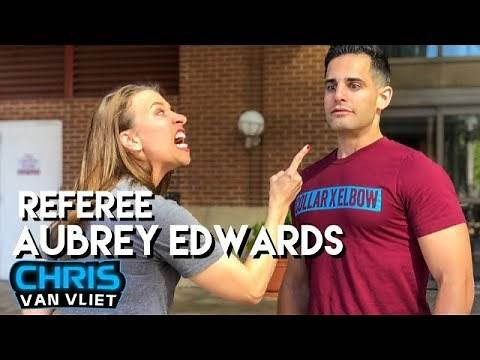 Referee Aubrey Edwards on making history, AEW, how she started, Chris Jericho