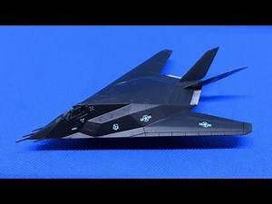 TRUMPETER F-117A Nighthawk 1/144 [Build Review]