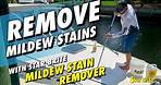 Clean Fiberglass Vinyl and Plastic With Star Brite Mildew Stain Remover