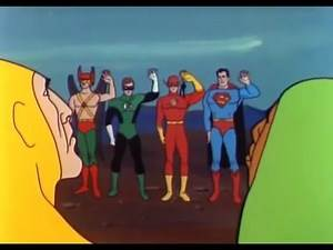 The 1967 Justice League Mini-series was rampageous