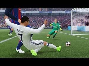 Barcelona vs Real Madrid | La Liga, Santiago Bernabeu (El Clasico Diciembre 23, 2017) | FIFA