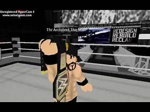 WWE Seth Rollins Entrance 2K17 ROBLOX Edition!! The Man returns!!